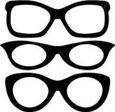 Resultado De Imagen Para Dibujo Anteojos Para Imprimir Silueta De Gafas Ojos Para Imprimir Estuche Para Lentes