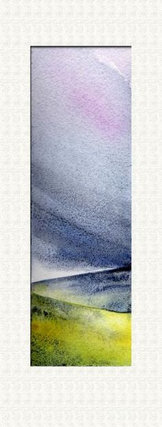 ARTFINDER: Sky. by JULIE MORRIS - Evening clouds on the hills.