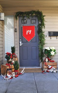 Front Door Decor on