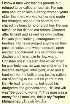 This is my prophet Muhammed (PBUH). #islam #deen #Allah