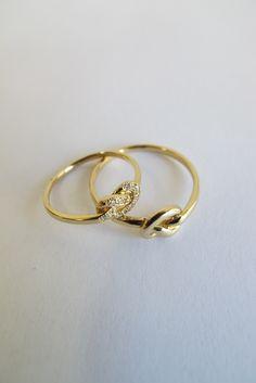 Ariel Gordon Love Knot Rings