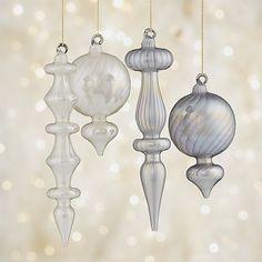 Pearl Ornaments | Crate and Barrel