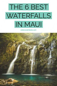 hawaii honeymoon 6 Easily Accessible Maui Waterfalls - You Wont Need To Hike To. If you are planning a trip to Maui Hawaii you do not want to miss these waterfalls! They deserve a spot at the top of everyones Hawaii bucket list! Oahu, Maui Hawaii, Kahului Hawaii, Kaanapali Maui, Lahaina Maui, Hawaii Life, Trip To Maui, Maui Vacation, Vacation Spots