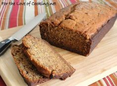 Banana Banana Bread | For the Love of Cooking