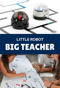 Ozobot teaches computer programming and coding with games that open the doors to STEM education partnered with art. Kids work interactively with their virtual teacher to learn coding through coloring and programming through play. There's a huge learning landscape in a package measuring slightly over an inch. Ozobot: the tiny, smart robot that's the perfect tech education partner!