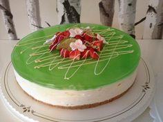 Lime-valkosuklaa juustokakku - Mamman leivontanurkka - Vuodatus.net Bon Appetit, Cheesecake, Food And Drink, Pie, Baking, Desserts, Cakes, Torte, Tailgate Desserts
