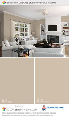 Sherwin Williams Living Room Paint Colors Sherwin Williams fort Gray Daylight This Color is Bedroom Paint Colors, Paint Colors For Living Room, Paint Colors For Home, House Colors, Paint Colours, Sand Color Paint, Sofa Colors, Wall Colors, Sherwin Williams Comfort Gray