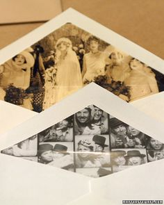 photo envelope liners