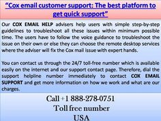 call cox technical support