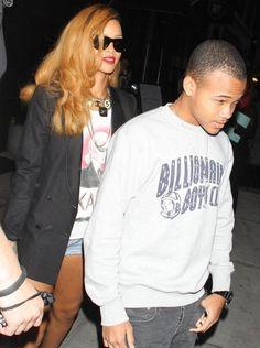Rihanna Photos - Rihanna Out Late with a Friend in NYC - Zimbio