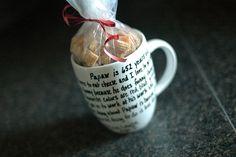 DIY gift - personalize a mug
