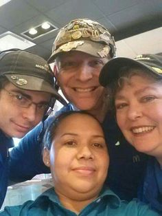 A Great Mc.Selfies Of Me, My Boss ( Carmen.M ), Laurel. M And Her Son ( Keifer.M ) ~ Loves Working With Them!!!