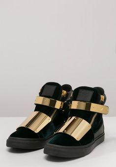 Giuseppe Zanotti, Black Gold, Sandals, Sneakers, Shoes, Fashion, Tennis, Moda, Shoes Sandals