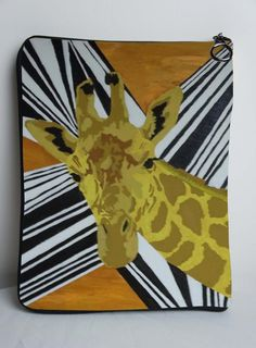 Giraffe iPad Case  Support Wildlife Conservation by SalvadorKitti, $29.99