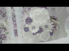 flores para scrapbooking - YouTube Quilling Videos, Mini Albums, Paper Flowers, Embellishments, Greeting Cards, Youtube, How To Make Paper Flowers, Single Flowers, Signature Book