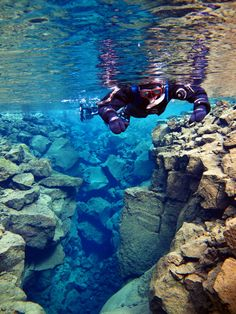 Facing the Notoriously Cold Icelandic Waters - Scuba Diving & Snorkelling in Silfra - To Europe And Beyond Cozumel Scuba Diving, Best Scuba Diving, Scuba Diving Gear, Cave Diving, Thailand Adventure, Thailand Travel, Maui Vacation, Vacation Ideas, Packing List For Travel