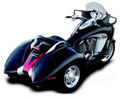 Honda Three Wheeled Motorcycles | ... what do you think? Is there a three-wheeled motorcycle in your future