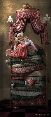 The Princess and the Pea by Pat Brennan,,,is,nt this fabulous !!!!