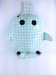 Shark Backpack, Toddler Backpack, Kids Backpack, Shark Bag, Gifts for Kids by MattieSews on Etsy https://www.etsy.com/listing/210971357/shark-backpack-toddler-backpack-kids