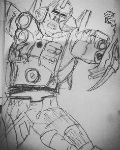Don't miss this one by stuntamu #amiga500 #microhobbit (o) http://ift.tt/1M8TSAz #turrican2art #artwork #art #amiga  memories #90sgaming  Turrican 2 doodle