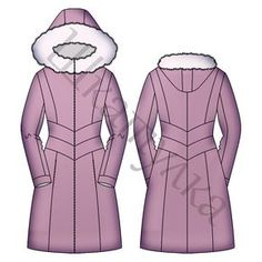 Sewing clothes winter coat patterns 47 Ideas for 2019 Diy Clothing, Sewing Clothes, Coat Patterns, Sewing Patterns, Teen Sewing Projects, Vest Pattern, Down Coat, Baby Sewing, Winter Coat
