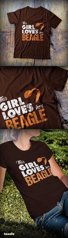 Love your beagle? Then this cool limited edition t-shirt is just for you. Wear it proudly & show off your love for your beagle!