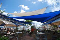 sun shade sail restaurant - Google Search