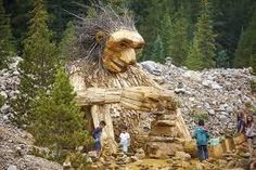 Bell tolls for Breckenridge trail troll as town council votes to remove popular art piece Work With Animals, Popular Art, Installation Art, Troll, Wilderness, Past, Art Pieces, Places To Visit, Lion Sculpture