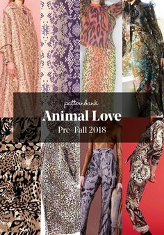 Pre-Fall 2018 Print and Pattern Highlights - Part 1 | Patternbank