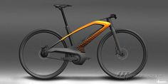 Peugeot Bike eDL132 Concept.