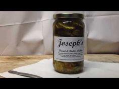 Tasty Thursday: Joseph's -Bread and Butter Pickles - YouTube