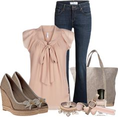 """""""blush of spring"""" by meganpearl on Polyvore"""