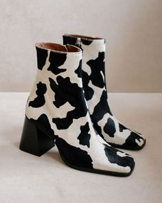 Dr Shoes, Cute Shoes, Me Too Shoes, Winter Looks, Fall Winter, Fur Boots, Heeled Boots, Black Ankle Boots, Leather Ankle Boots