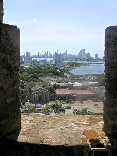 From the battlements ( atop the Barajas Fortress) Cartagena, Columbia Copyright: William Durham