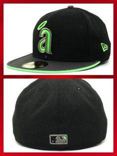 Anaheim Angels Graphite 59FIFTY Cap ANGELS FITTED HAT  - Mens SIZE 7 3/8 #NewEra #AnaheimAngels