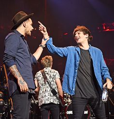 Liam and Louis - Apple Music Festival - 9/22/15