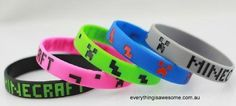 New 5 pcs Minecraft Wristbands Bracelet Birthday Party Favours Lolly Bag Filler - http://www.austree.com.au/ads/clothing-jewellery/accessories-clothing-jewellery-2/5-pcs-minecraft-wristbands-bracelet-birthday-party-favours-lolly-bag-filler/26390/
