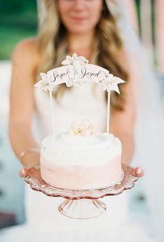 30 Wonderful Vintage Wedding Cake Toppers ❤ vintage wedding cake toppers tender sign Mango Studios #weddingforward #wedding #bride