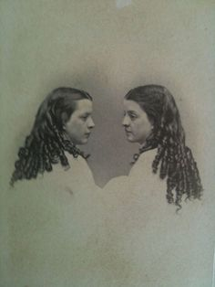 1860 victorian gils | 1860s girls with curls. American.