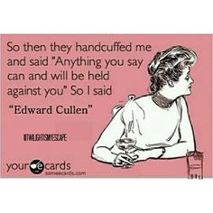 .@twilightismyescape   Edward Cullen