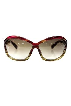 04cf4107ee (eBay Sponsored) Tom Ford Womens TF 122 Patek Sunglasses Beige Red Plastic