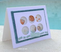 Adorable card created bu Lols for the Simon Says Stamp Wednesday challenge (Sparkle and shine)
