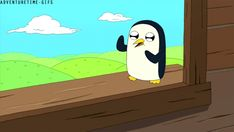 Dancing Gunther - Adventure Time - breakfast kingdom public library