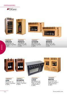 Dispensadores de bebidas de VICAVE. Especial vinos.