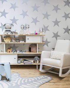 papel pintado en habitacin infantil