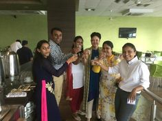 Cutting chai with partners in Education