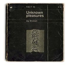 'This is the room, the start of it all..' Joy Division: Unknown Pleasures by Littlepixel™, via Flickr #joydivision