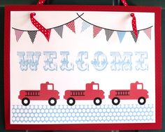 fire truck party  http://sweetlychicevents.com