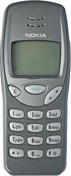 Nokia 3210 - I miss my baby :´( - though I love my new one :-D --- The first hand-held mobile phone was demonstrated by Dr Martin Cooper of Motorola in 1973, using a handset weighing 2 kg. In 1983, the DynaTAC 8000x was the first to be commercially available.