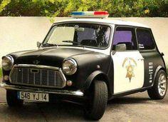 Classic Mini - Police - Vintage